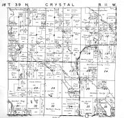 Crystal Township, Washburn County 1952